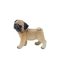 Tượng chó Pug - Tượng mô hình đẹp - Tượng trang trí