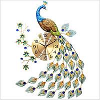 Đồng Hồ Treo Tường Hình Chim Công MAC1868