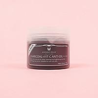 Mặt Nạ Thạch Annie's Way Hũ Kiềm Dầu - Charcoal + Vitamin C Anti-Oil Jelly Mask 250ml