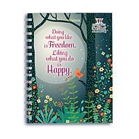 Sổ Lò Xo Notebook Minh Long - Freedom & Happy
