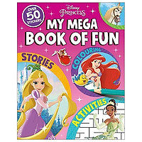 Disney Princess: My Mega Book of Fun (My Mega Book of Fun Disney)
