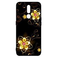 Ốp lưng dành cho điện thoại Oppo F11 Pro Họa Tiết Hoa Vàng - Hàng Chính Hãng