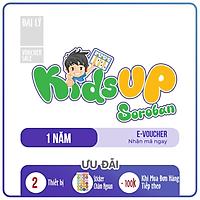 Evoucher - KidsUp Soroban Toán tư duy Nhật Bản (Trọn đời, 1 năm)