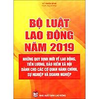 Bộ Luật Lao Động Năm 2019