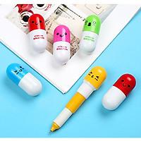Combo 3 bút bi dễ thương cute hình viên thuốc vitamin - Giao mẫu ngẫu nhiên