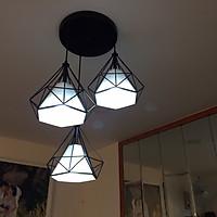 Đèn thả 3 kim cương đã bao gồm bóng