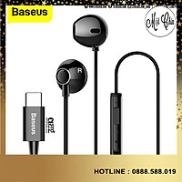 Tai nghe in Ear Baseus C06 Encok wired earphone ( Excellent sound quality , sounds like being at the scene ) -Hàng Chính Hãng