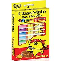 Bút Sáp Dầu Classmate OP101 - 12 Màu