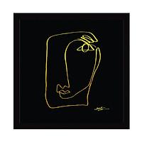 Tranh Nét Vàng - Golden Art (36x36cm)