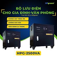 Bộ Nguồn Điện Dự Phòng HPGREEN HPG2500VA Thay Thế Máy Phát Điện UPS