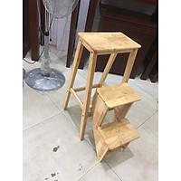 Ghế thắp hương (thắp nhang) 3 bậc - Gỗ cao su