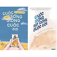 """Combo 2 Cuốn Sách: Cuộc Sống """"Đếch"""" Giống Cuộc Đời + Cuộc Sống Rất Giống Cuộc Đời"""