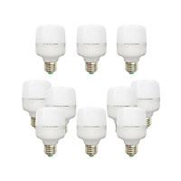 10 Bóng đèn Led trụ 9w 10w bup trụ bulb siêu sáng tiết kiệm điện kín chống nước Posson LC-H10x