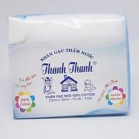 Khăn gạc Thanh Thanh Nhỏ 3 lớp 25x30cm 100%cotton