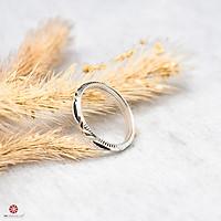 [RẺ VÔ ĐỊCH - Bạc Cao Cấp Cam Kết 100% Bạc Ta] Nhẫn bạc lông voi, nhẫn lông đuôi voi nhân tạo may mắn cho cặp đôi