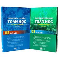 Đánh thức tài năng toán học 2 và 3 - Toán song ngữ Anh Việt - GenBooks ( Bộ 2 cuốn, 8 - 10 tuổi )