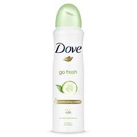 Xịt Khử Mùi Dove Go Fresh Dưa Leo & Trà Xanh 150ml -67131803