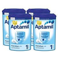 Bộ 4 hộp sữa bột công thức Aptamil số 1...