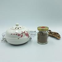 Combo lư xông điện và 20g bột trầm hương