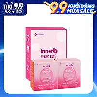 Bộ 2 Hộp 6 chai nước uống Collagen Vitamin C sáng da InnerB Glowshot (50mlx6)