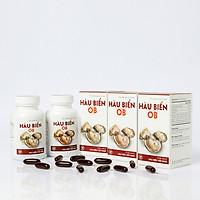 [COMBO 3 HỘP] Thực phẩm bảo vệ sức khỏe Hàu Biển OB - tăng cường sinh lý nam giới - 3 hộp x 30 viên