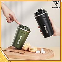 Cốc Giữ Nhiệt Coffeeholic Inox 304 Dung Tích 510ml Cao Cấp Kiểu Dáng Hàn Quốc Cầm Tay Sang Trọng BNG07