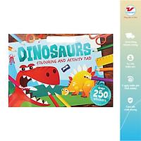 Sách tô màu Dinosaurs Colouring and Activity Pad