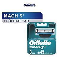 Lưỡi dao cạo Gillette Mach3 x3 lưỡi