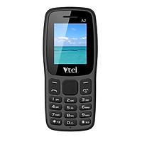 Điện thoại di động GSM Vtel A2 (Màu đen) - Hàng chính hãng