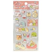 Sticker Soft Foam Magic Chanel KR_Sumikko Gurashi