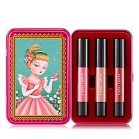 Bộ son môi trang điểm sắc màu nữ tính phiên bản 1 - BEAUTY PEOPLE Dollish Lip Special Makeup Set