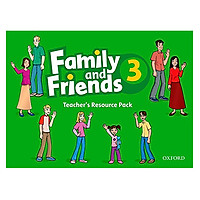 Family and Friends 3 Teacher's Resource Pack (including Photocopy Masters Book, and Testi