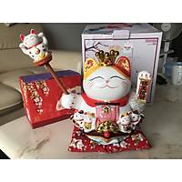 Mèo Thần Tài Vẫy Tay Vua Chúa - Cao 25cm~30cm