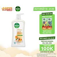 Sữa tắm Dettol Onzen mật ong kháng khuẩn và dưỡng thể - Chai 950g