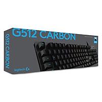 Bàn phím cơ Logitech G512 RGB Mechanical Romer-G Tactile - Hàng chính hãng