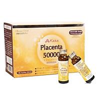 Nước uống đẹp da tinh chất nhau thai Collagen Kaza Placenta 50000mg (Hộp 10 chai x 50ml)