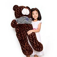 Gấu bông Teddy đáng yêu 1m gấu bông sóc nhí Tặng khẩu trang thời trang vải Su màu ngẫu nhiên