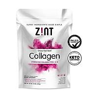 Collagen Powder Peptides: Keto Certified, Paleo Friendly Hydrolyzed Protein Powder - Anti Aging Beauty Supplement - Skin, Hair, Nails (10 oz)