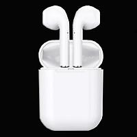 Tai nghe bluetooth I12 nhét tai không dây thiết kế cảm ứng độc đáo, tiện lợi - hàng chính hãng