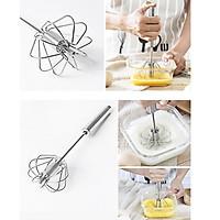 Combo 2 Dụng cụ tạo bọt trứng sữa bằng tay Japan + Tặng gói hồng trà sữa (Cafe) Maccaca siêu ngon