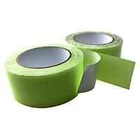 Xanh Nhám Luminous - Băng keo tape dạ quang nhám chống trơn trượt 3cmx5m