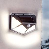 Đèn cảm biến năng lượng mặt trời 3 chế độ 100 LED
