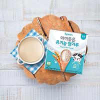 Bột ăn dặm từ gạo hữu cơ Hàn Quốc ISPOON cho bé từ 4 tháng tuổi - 126g