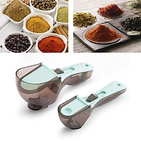 Plastic Measuring Spoon Milk Powder Condiment Baking Tool Kit With Scale