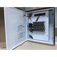 Hộp cấp nguồn điện 12v cho hệ thống camera giám sát (Dành cho hệ thống 8 camera và đầu ghi) - Hàng chính hãng