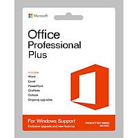 Phần mềm Microsoft Office 2016 Professional Plus 64 bit (Bản quyền vĩnh viễn) - Hàng Chính Hãng