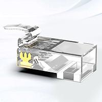 Đầu bấm mạng AMPCOM CAT5E  UTP (15U/30U/50U) 100pcs/ hộp AMCAT5E - Hàng chính hãng