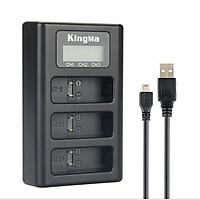 Sạc Pin KingMA Cho máy ảnh thể thao Gopro 5,6 - hàng chính hãng