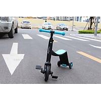 Xe Trượt Scooter, Xe Chòi Chân, Xe Đạp Nadle cho bé Tặng Decal Đo Thị Lực và Chiều Cao