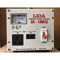 Ổn áp 1 pha LIOA SH-1000 II 1.0kVA điện áp vào 150V - 250V